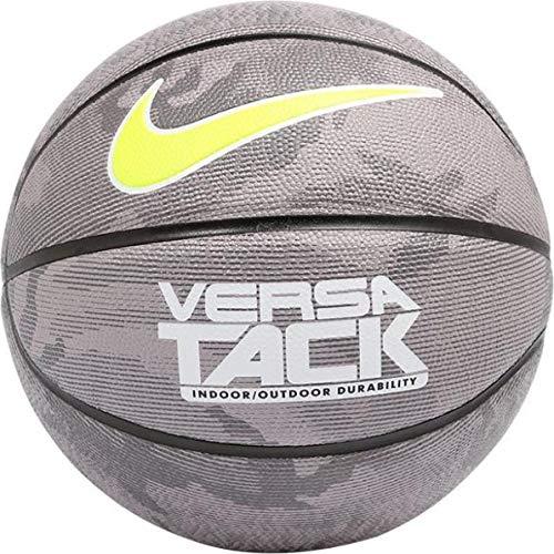 Nike Erwachsene Versa Tack 8P 026 Basketball, Black/Met, 7