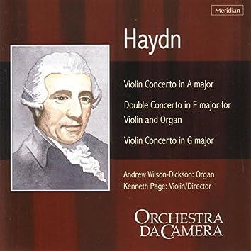 Haydn: Concertos for Violin and Organ