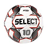 SELECT Numero 10 Match Turf Soccer Ball, White/Black/Red, Size 5