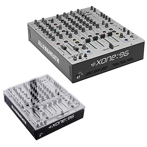 Allen & Heath XONE:96 Professional 6-Channel Analog DJ Mixer with XONE:96 Cover Bundle
