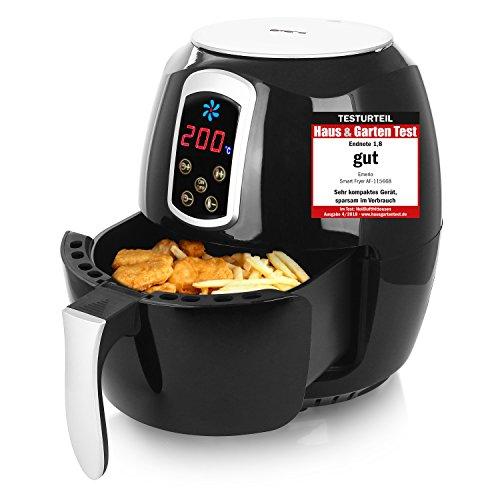 """Emerio Heißluftfritteuse, Airfryer, Smart Fryer, Test \""""GUT\"""", Frittieren ohne Öl, 3,6 Liter Volumen, 1400 Watt, AF-115668"""
