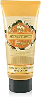 AAA Floral - Orange Blossom, Luxury Bath & Shower Gel, Enriched with Shea Butter - 200 ml, 6.8 Fl Oz