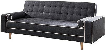 Amazon.com: Iconic Home Winston PU Leather Modern ...