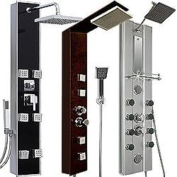 duschpaneel mit ablage unsere top4 favoriten vorgestellt. Black Bedroom Furniture Sets. Home Design Ideas