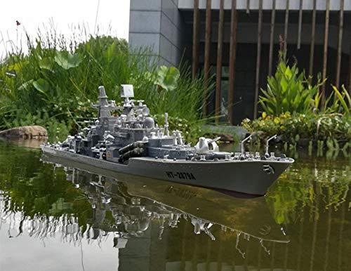 SOWOFA 30,7-Zoll-Fernbedienung Kriegsschiff Modell Super Large Warship Vier-Kanal-Fernbedienung Realistische Militärboot Wasserfahrzeug Schiffsmodell