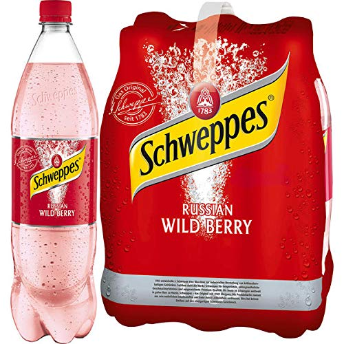 DPG Schweppes Russian Wild Berry 6 x 1,25l (inkl. 1,50 Euro Pfand)