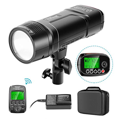 Neewer VISION2 200Ws 2.4G TTL Flash Strobe Compatible with Sony DSLR Cameras, 1/8000 HSS Pocket Monolight with Wireless Trigger, 2900mAh Battery to Cover 500 Full Power Shots Recycle in 0.01-1.8 Sec
