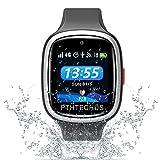 PTHTECHUS 4G Smartwatch Phone per Bambini, video chiamata Orologio WIFI+GPS Anti-perso Impermeabile IP68 e standby di 72 ore, Sveglia SOS per il Gioco di Orologio per bambini, regalo bambino 3-12 ann