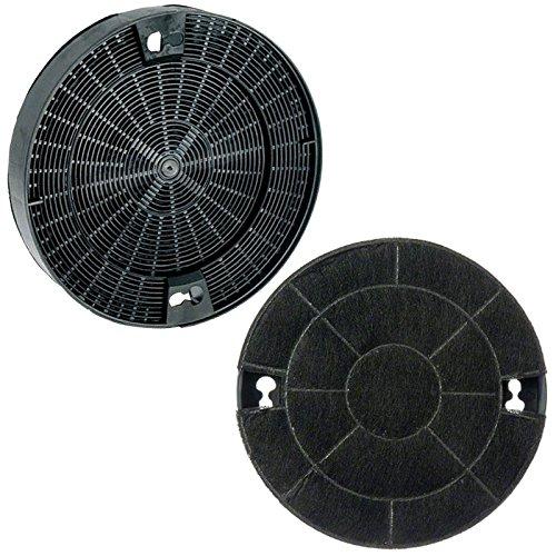 Genuine ZANUSSI Typ 29anthrazit Carbon Dunstabzugshaube Vent Filter (190mm x 35mm)
