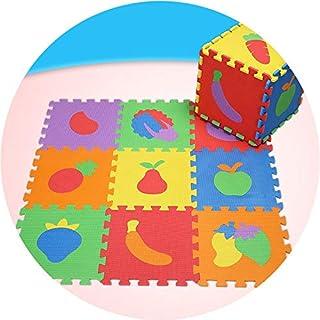 GUORRUI Foam Puzzle Mat Infant Crawling Mat PE Child Digital Animal Puzzle Pad Crawling Mat Foam Mat Floor Mat Bedroom Kee...