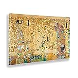 Giallobus - Quadro - Gustav Klimt - L'Albero della Vita - Tela Canvas - 100x60 - Pronto da Appendere - Quadri Moderni per la casa