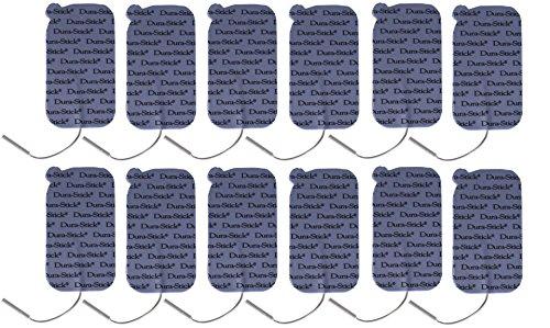 Dura-Stick Plus Electrodes Blue Foam Sticky Pads, 12 Count Dura Stick Tens Electrodes