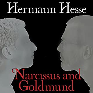 Narcissus and Goldmund audiobook cover art