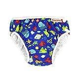 ImseVimse, Pannolino da nuoto per acqua, costume da bagno Blue Sea Life (S 6-8 kg)