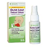 Seagate Products, Olive Leaf Nasal and Raspberry Spearmint Throat Spray Combo Pack (2Pack), Seagate...