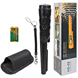 MultiOutools Metal Detector Pinpointer High Sensitivity,Fully Waterproof to 32FT with LCD Display,9V Battery,Sound/Vibration Indication, 360° Scanning,Handheld Metal Detector Accessory (Black 2021)