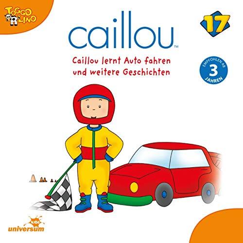 Caillou lernt Auto fahren Titelbild