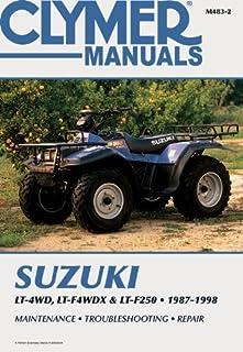 Clymer Suzuki Lt-4Wd, Lt-Wdx & Lt