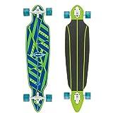 Osprey Erwachsene Tribal 40.5' Longboard, Blue/Green, 102.9 x...
