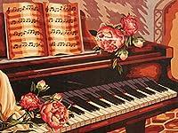 大人のためのピアノミュージカルパズル1000ピース-大人のティーンと子供のための大きなポスター付きのジグソーパズル、家族と友人のための大きなパズルゲームのおもちゃギフト