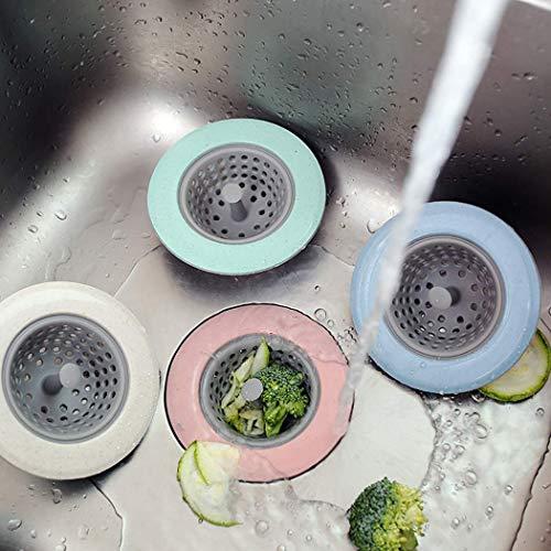 Douchevloer afvoer - wastafel trechter - anti-blokkering filter 4 verschillende combinaties - wastafel cover accessoires