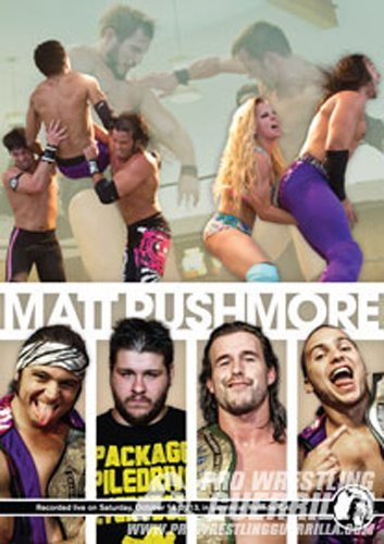 Pro Wrestling Guerrilla - PWG Matt Rushmore DVD