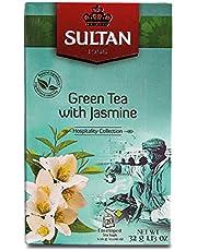 SULTAN THEE Marokkaanse groene thee met jasmijn kruidenthee (Pak van 8-160 Theezakjes)