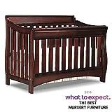 Best Baby Cribs - Delta Children Bentley S Series 4-in-1 Crib, Black Review