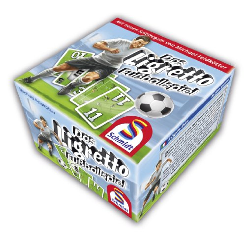 Schmidt Spiele 2801 Michael Feldkötter - Das Ligretto Fußballspiel