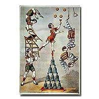 Miscellaneous Circus Play ティンサイン ポスター ン サイン プレート ブリキ看板 ホーム バーために