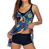 Darringls Bikini Donna, Costumi da Bagno Push Up Costumi Donna Mare Intero Donne Brasiliana Estate Bikini 2019 Tankini per Donna Costume colorato Costume da Bagno con Pantaloncini