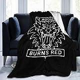 DorothyCGarza August Burns Red Flannel Fleece Blanket Ultra Soft Warm Cozy Plush Bed Blanket Lightweight Sofa Throw Blanket in Winter(Three Sizes 50X40,60X50,80X60 Inch)