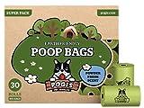Pogi's Poop Bags 450 Bags, Earth-Friendly, Scented, Leak-Proof Waste Bags