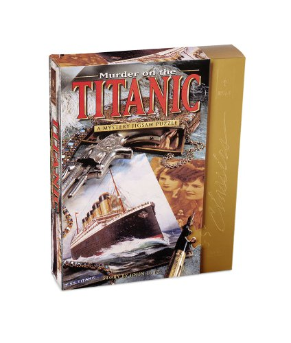 Bepuzzled Mystery Puzzle - Murder on The Titanic