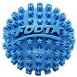 Body Back Foot Star Massager and Plantar Fasciitis Roller, Foot Stress Relief Ball, Blue