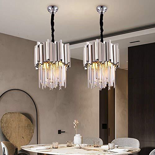 MQW Moderno Y Minimalista Restaurante Luces Diseñador De Iluminación Modelo De Habitaciones Villa Chrome Un Único Cabezal De La Lámpara 30 * 40cm