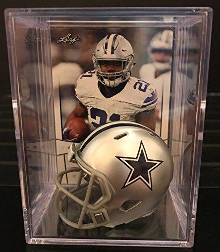 Dallas Cowboys NFL Helmet Shadowbox w/ Ezekiel Elliott card