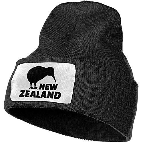 Maselia New Zealand Kiwi Slouchy Unisex Slouch Beanie Hüte - Dick, WarmandStylish Winter Hüte Schwarz