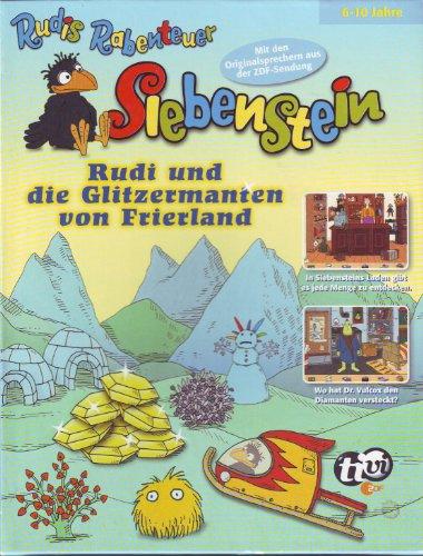 Rudis Rabenteuer Siebenstein -Rudi und die Glitzermanten von Frierland