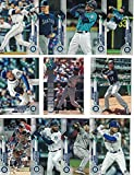 Seattle Mariners/Complete 2020 Topps Mariners Baseball Team Set! (21 Cards) Series 1 and 2. Kyle Lewis Rookie! ***PLUS*** A Bonus Ken Griffey Jr Card!. rookie card picture
