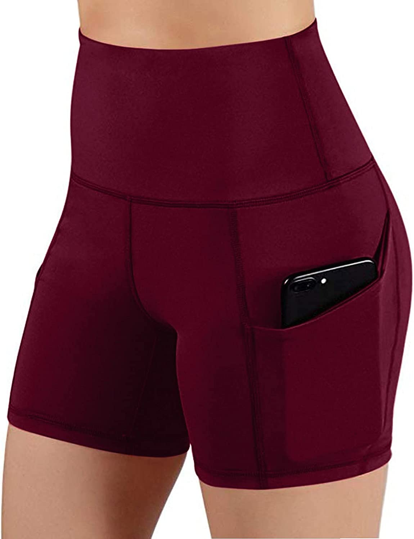 RYGHEWE Women's High Waisted Leggings Seasonal Wrap Japan Maker New Introduction Cross Waist Workout Shorts