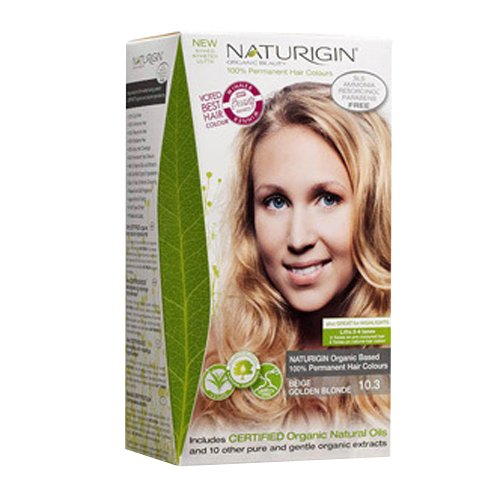 Naturigin Permanent Hair Color, Beige Golden Blonde