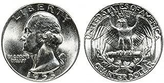 1953 P U.S. Silver Quarter High MS 1/4 Gem Brilliant Uncirculated