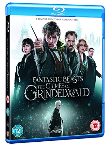Fantastic Beasts The Crimes of Grindelwald [Blu-ray] [2018] [2019] [Region Free]