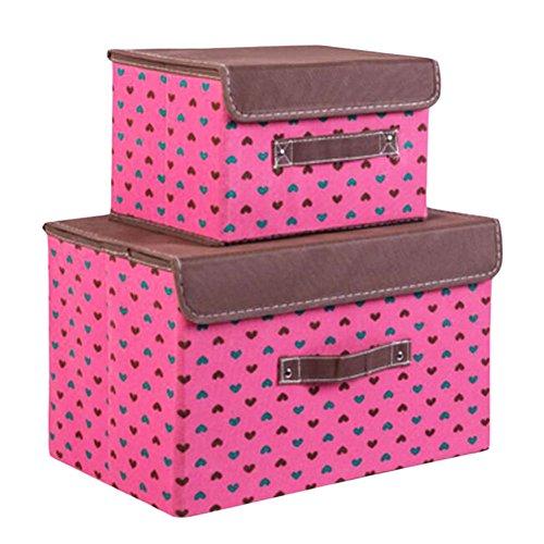 Black Temptation 2 PCS Creative Toy Storage à la poussière Chaussures Tissu Container-03