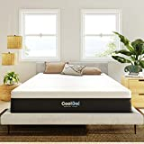 Classic Brands Cool Gel and Ventilated Memory Foam 12-Inch Mattress, CertiPUR-US Certified , Queen, White