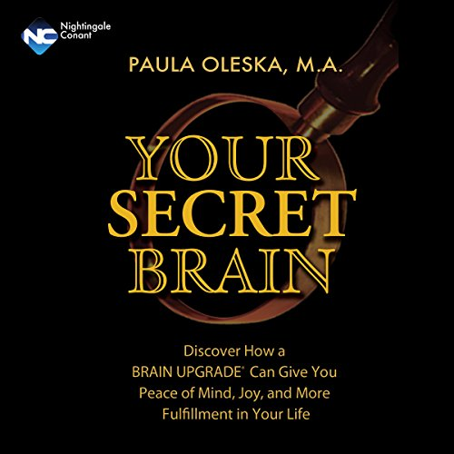 Your Secret Brain audiobook cover art