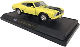 Diecast Model Ford Falcon XB GT Hardtop Yellow Blaze Die Cast Car 1:32 Scale by Oz Legends Genuine Licensed Product - Coll...
