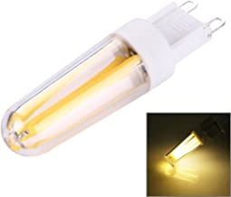 SGJFZD PC Material Dimmable 4 LED Filament Light Bulb for Halls, G9 4W AC 220-240V (Color : Warm White)