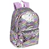Reverse Sequin Glitter Backpacks - Color Changing Rainbow Magic Backpacks (Original Rainbow)